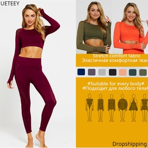 Fitness 2 Piece Set Women Yoga Suit Fitness Clothing Women Gym Clothings Yoga Sport Sets Gym Sports Wear For Women Dropshipping