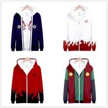 Mode Sweatshirt Hoodies Männer Frauen 3d Gedruckt Anime Naruto Akatsuki Hoodies Cosplay Streetwear Trainingsanzug Zipper Hoodie Kleidung