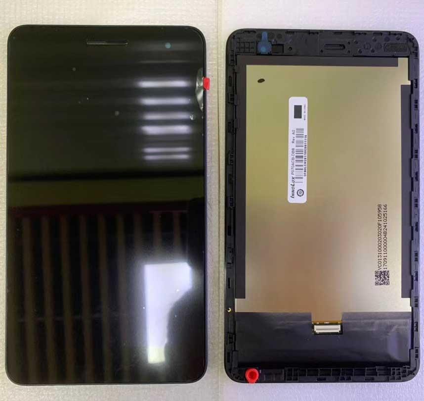 Original+Frame LCD Display and with Touch Screen For HUAWEI MediaPad T1 7.0 701 T1-701 701U T1-701U 701UA T1-701UA Digitizer