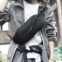 FYUZE New Mini Chest Bag Waist Pack for Men Small Single Shoulder Back pack Style Bum Bag Money Belt