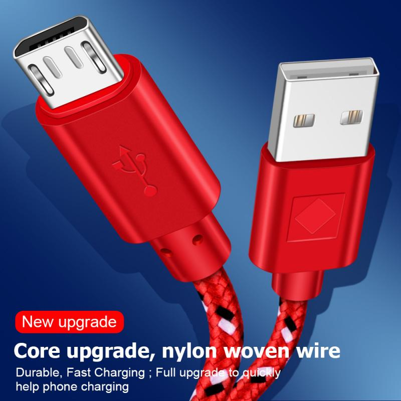 Los Cables del teléfono móvil 1M/2M USB-C Cable para Samsung S10 Plus...