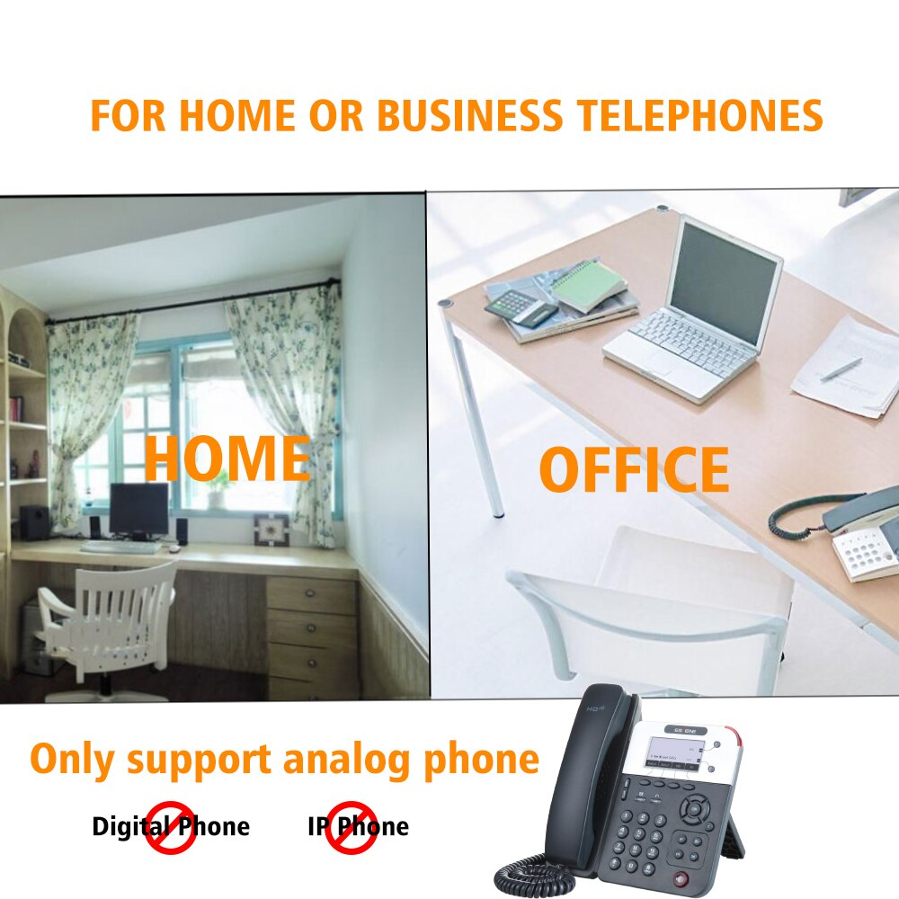Mini Telephone Call Recorder,record telephone voice without computer,date & time stamp on recorded file,auto get power from line enlarge