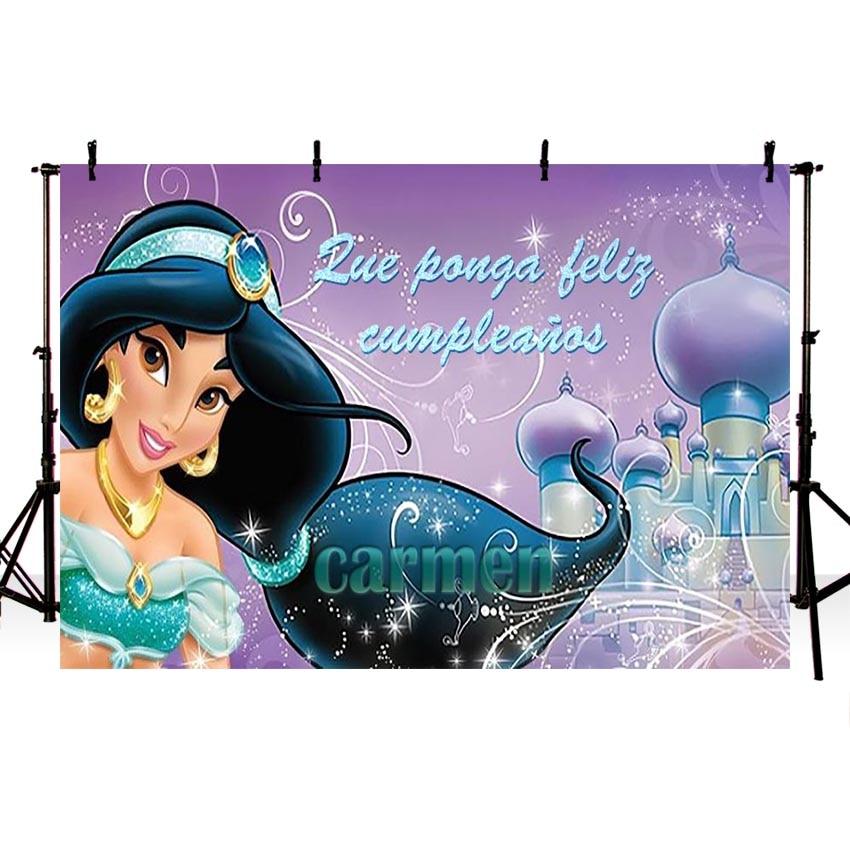 Taibo fundo de vinil fotografia jasmim princesa fundo aladdin palácio photo studio background photocall
