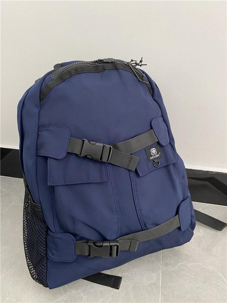 Качественные нейлоновые водонепроницаемые дорожные рюкзаки, мужской спортивный рюкзак для улицы, школьный рюкзак для ноутбука для подрост...