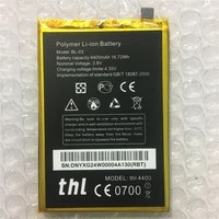 in stock 100 new bl 03 battery for thl 4400mah cell phone repair replacement accessory