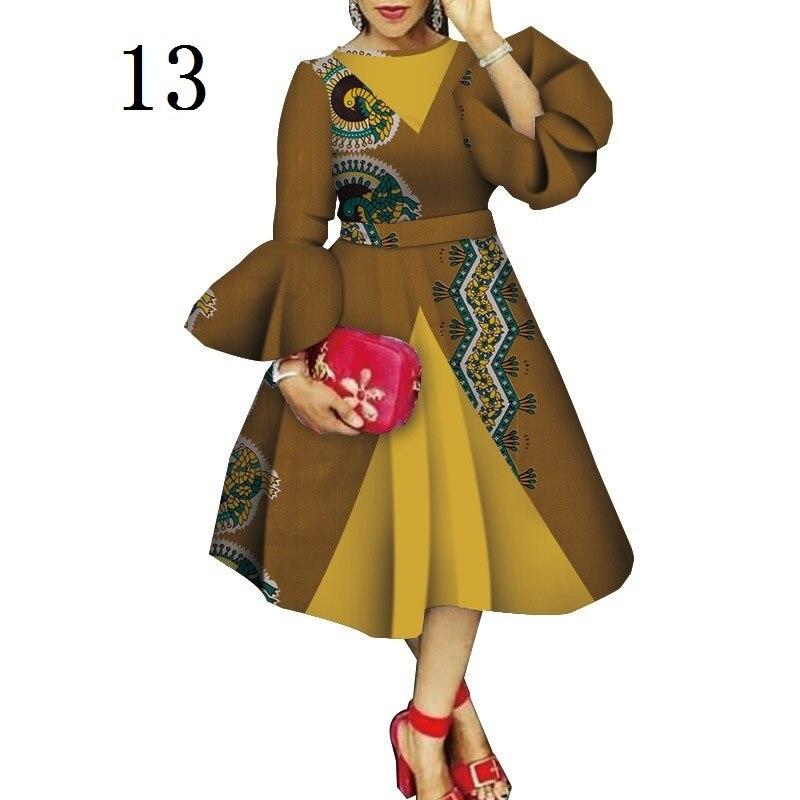 Цена на складе, высокое качество, Дашики, расклешенный рукав, африканская одежда, Базен риче, восковая печать, одежда для леди, WY4544