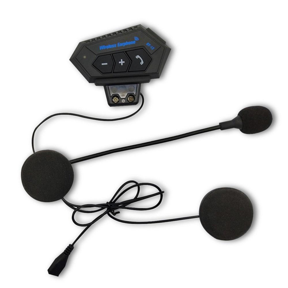 Helmet Headphone Bluetooth Motorcycle Headset V4.2 Bluetooth Intercom Motor Bike Earphone Noise Reduction Microphone MIC enlarge
