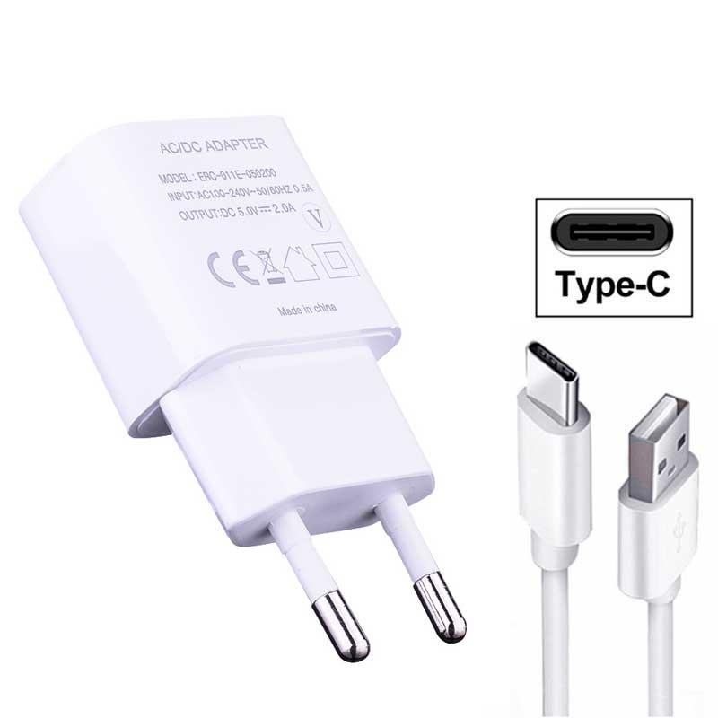 Кабель типа C, быстрое зарядное устройство, USB C, дорожный адаптер для Red mi 8 8A K20 Pro Note 8 Mi 9T 9SE 8 Lite 8 Pro 5V 2A, зарядный кабель с разъемом EU
