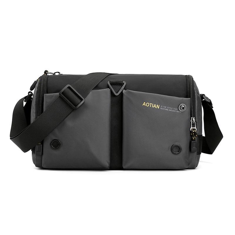Good Qualtiy Travel Bag Nylon Casual Shoulder Crossbody Outdoor Bags Mens Zipper Waterproof Messenger