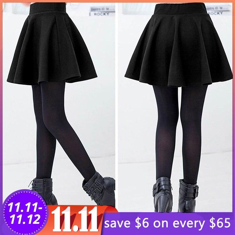 Único de cintura alta estiramento casual algodão queimado moda feminina mini saias plissadas temos suficiente estoque apoio dropshipping