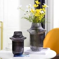nordic light luxury american glass vase decoration living room flower arrangement porch tv cabinet table decoration