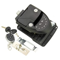 rv keyless entry door lock handle latch wireless with keypad fob 20m remote control for caravan camper yacht ferry