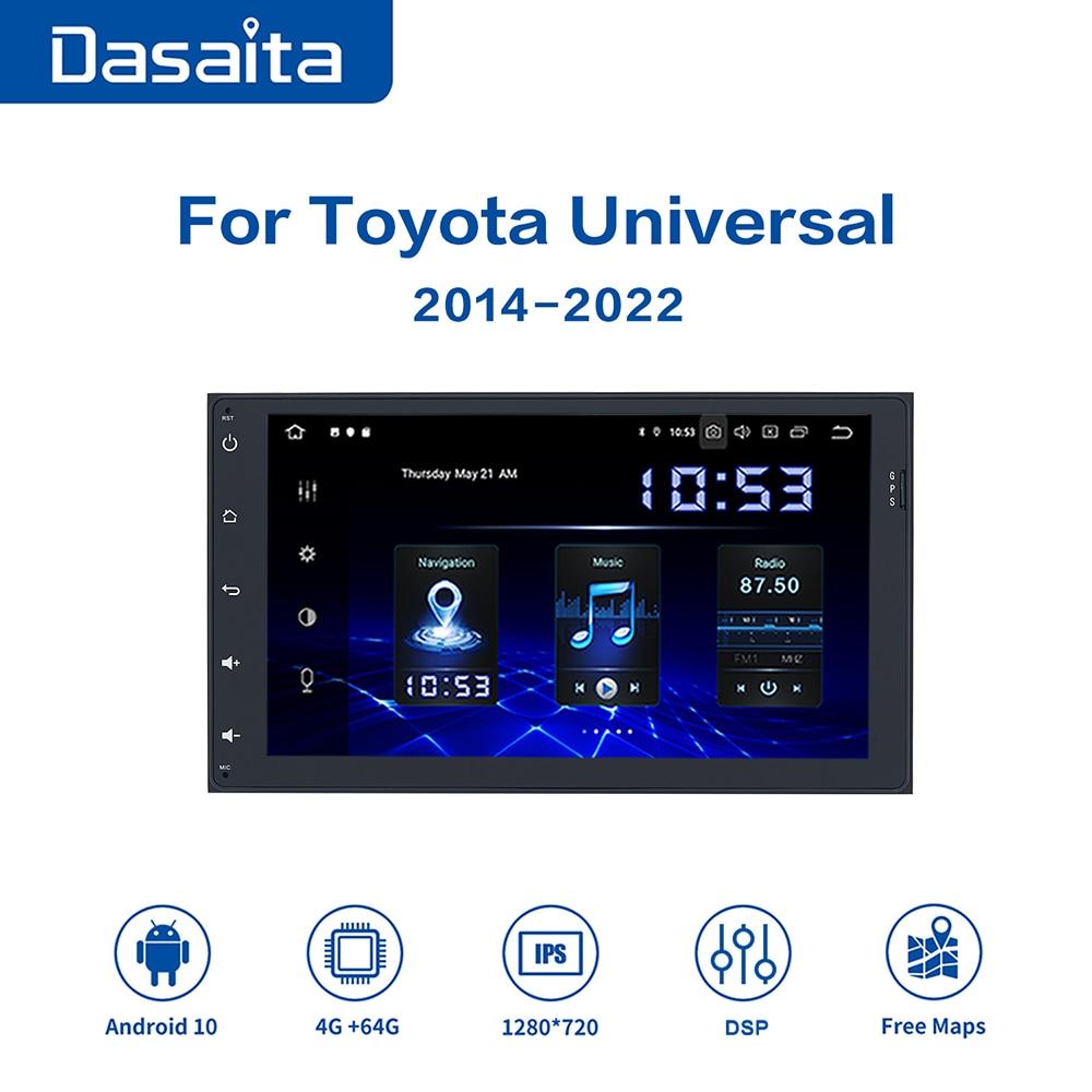 Dasaita-Radio Multimedia con GPS para coche, pantalla IPS de 9 pulgadas, 2...
