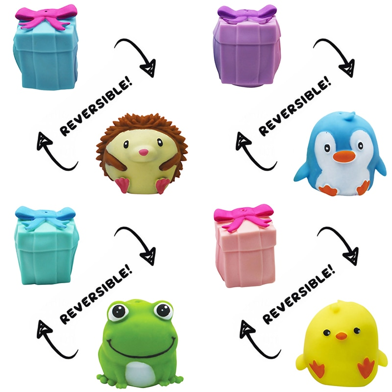 Kawaii Pets Flip Gift Box Fidget Toys Pop It Innovative Decompression Toys Gift For Kids Adult Stress Relief Squisy Toys Gift enlarge