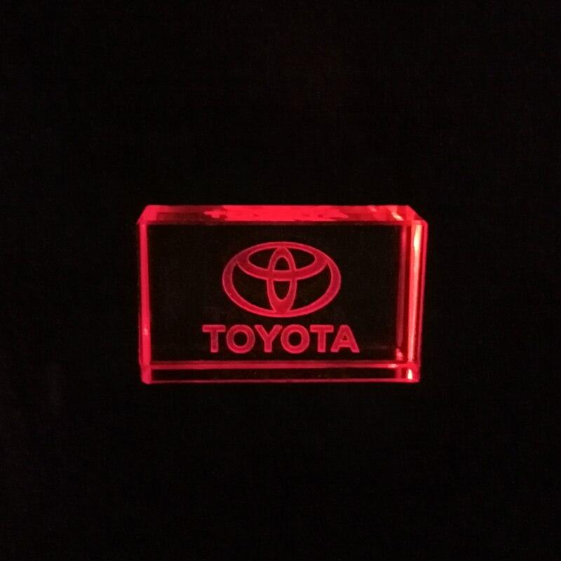 USB флеш-накопитель Toyota kristal + metalen, флешка, 4 ГБ, 8 ГБ, 16 ГБ, 32 ГБ, 64 ГБ, 128 ГБ, внешняя карта памяти с логотипом на заказ в подарок