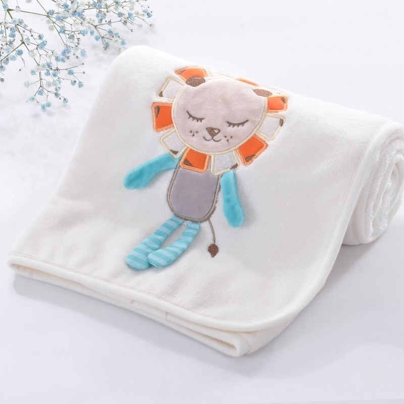 Newborn Baby Blanket Muslin Fine Cotton Infant Bed Sleeping Covers Quilts 75x100cm Toddler Boy Girl Stroller Wrap Swaddle Super