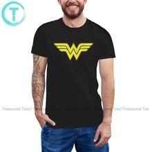 Wonder femme T Shirt Wonder femme classique T-Shirt 5x graphique T-Shirt manches courtes homme décontracté T-Shirt