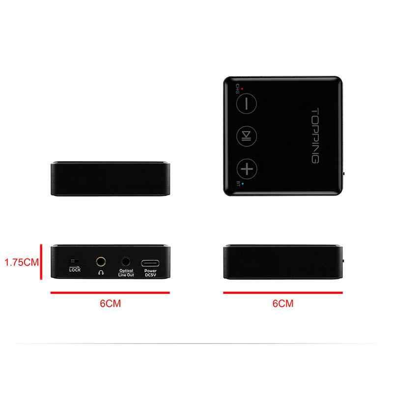 Topping Bc3 Bluetooth Ldac Ontvanger 24bit 96khz Sbc Aac Aptx Hd Csr8675 Es9018q2c Hoofdtelefoon Uitgang Line Out Auto Aux Ontvanger Digitaal Naar Analoog Omvormer Aliexpress