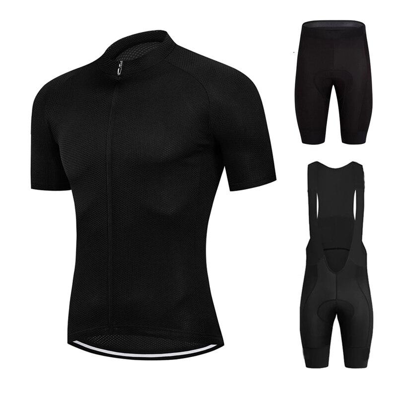 Conjunto de Ropa de Ciclismo para hombre, maillot transpirable de estilo Simple,...