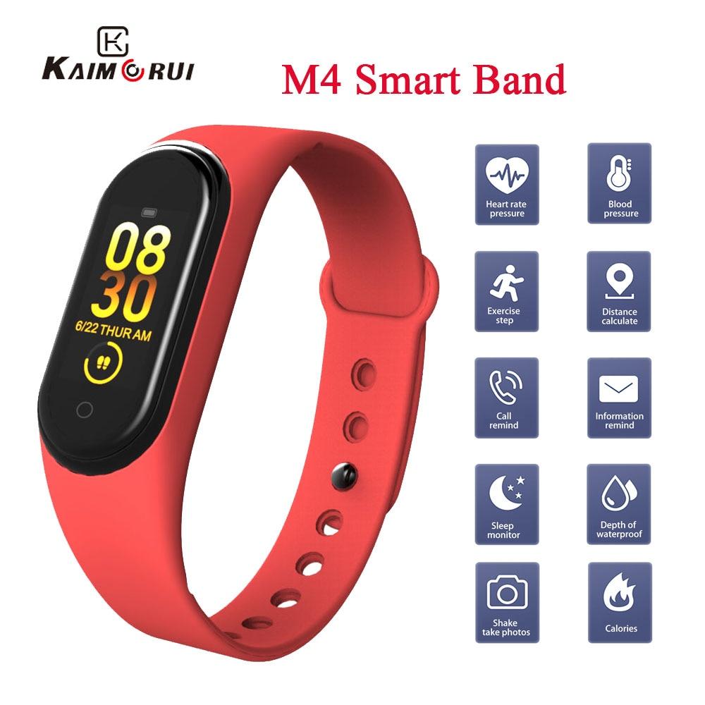 M4 Smart Band Bracelet Heart Rate Blood Pressure Watch Smartband Fitness Tracker Cardio bracelet m4 band Health smart Wristband