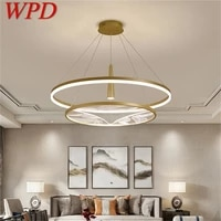 wpd pendant lights led fixture contemporary luxury decoration for home living dining room