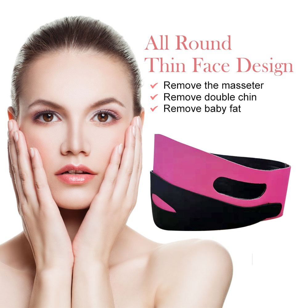 Face Slimming Bandage V Line Face Shaper Women Chin Cheek Lift Up Belt Facial Anti Wrinkle Strap Face Care Tools