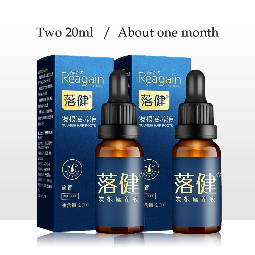 2 peças soro de crescimento do cabelo essência para mulheres e homens crescimento do cabelo óleo essencial cuidados com o cabelo anti prevenção de perda de cabelo líquido