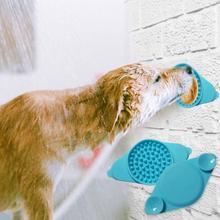 Hot Sale Dog Licking Pad Dog Bath Buddy Slow Feeders Cat Treat Mat Pet Dispensing Mat Pet Bathing Grooming Dog Training Supplies