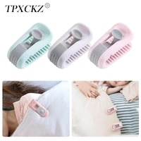 tpxckz 6pcsset bed sheet clip household needle free invisible buckle bed duvet sheet fixer anti run kick buckle fixing clip