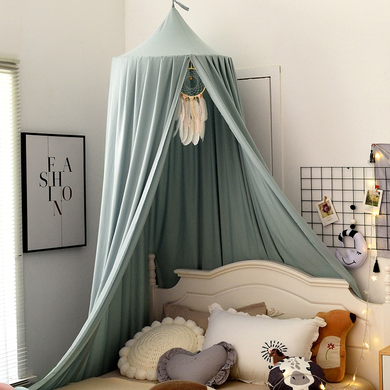 Baby Mosquito Net for Crib Girls Princess Mosquito Net Hung Dome Bedding Baby Bed Canopy Tent Curtai