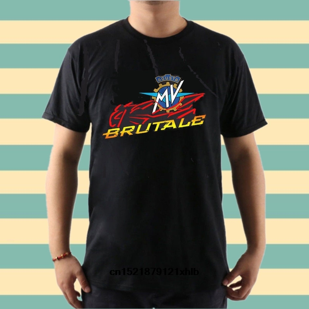 Мужская футболка классическая Mv Agusta Brutale черная футболка забавная футболка новинка футболка wo для мужчин