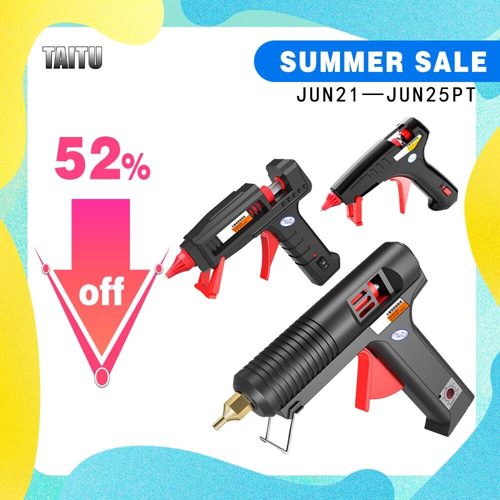 AliExpress - TAITU Diy Hot Melt Glue Gun Industrial Mini Guns Thermo Adhesive Stick Silicone Guns Thermo Glue Gun Electric Repair Heat Tools