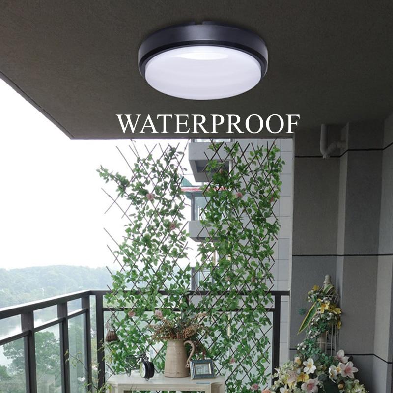 conduziu a lampada do teto do banheiro luz de teto superficie montado a prova d16