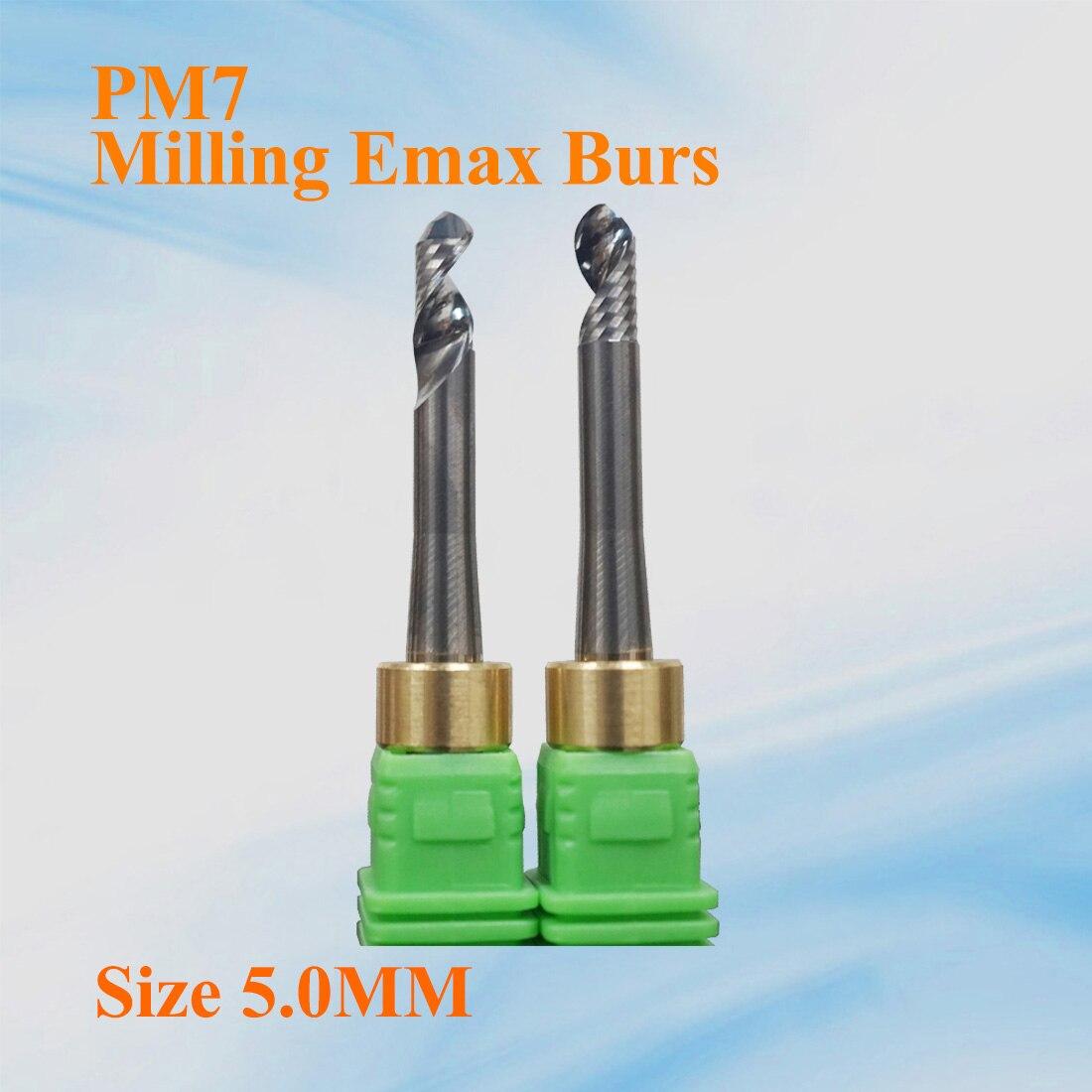 5 piezas PM7 PMMA tamaño de las fresas 5,0mm fabricante de China