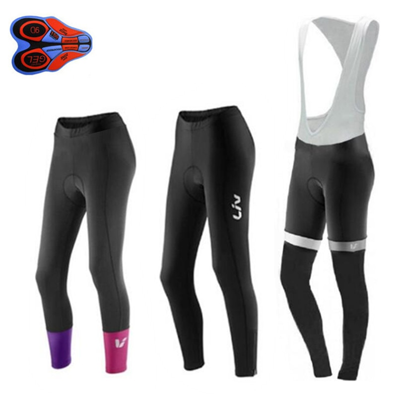 Pantalones de Ciclismo para mujer, medias largas con almohadilla de Gel 9d,...
