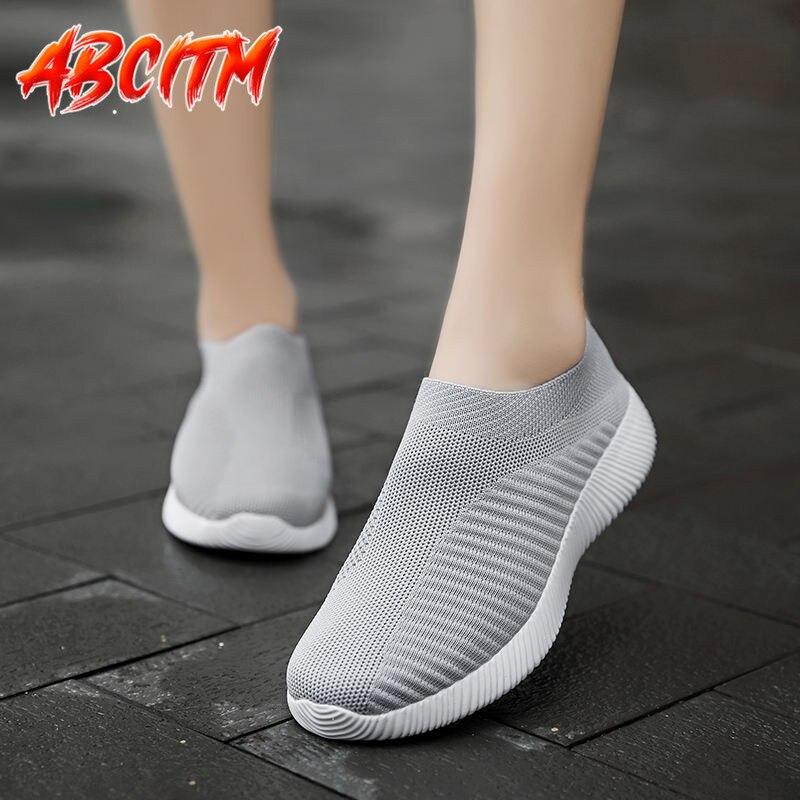 Zapatillas de deporte ligeras y suaves para mujer, zapatos informales de talla...