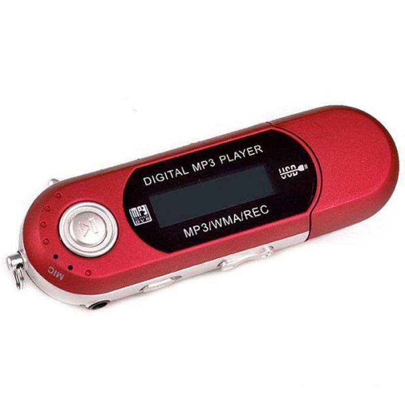 Mini USB portátil Flash reproductor MP3 pantalla LCD soporte Flash 32GB TF/SD ranura para tarjeta reproductor de música Mp3 Digital