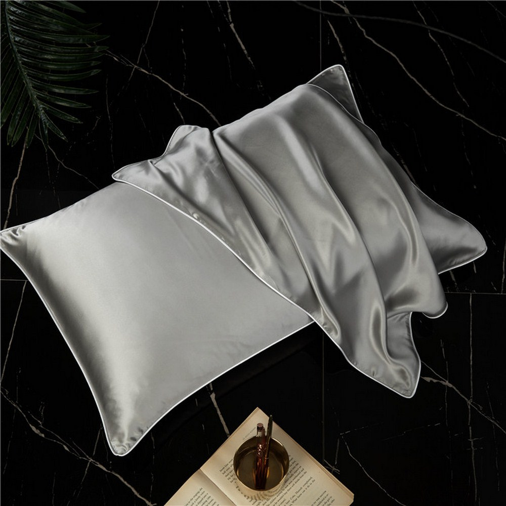 Mulberry Silk Pillowcase Top Quality Pillow Case Silk Pillows Case 48X74cm Pillowcase Bed Throw Single Pillow Covers New Arrival
