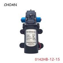 15W DC 12V Car Wash Agricultural Home Low Pressure Self Priming Suction Water Pump Sprayer Mini Electric Diaphragm Pump 12 volt