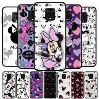 disney mickey mouse print for xiaomi redmi note10 10s 9t 9s 9 8t 8 7 6 5a 5 4 4x prime pro max soft silicone phone case