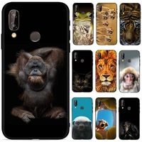 cute animal case for huawei p20 phone case soft touch tpu silicon for huawei p20 lite case for huawei p20 pro p20pro case shell