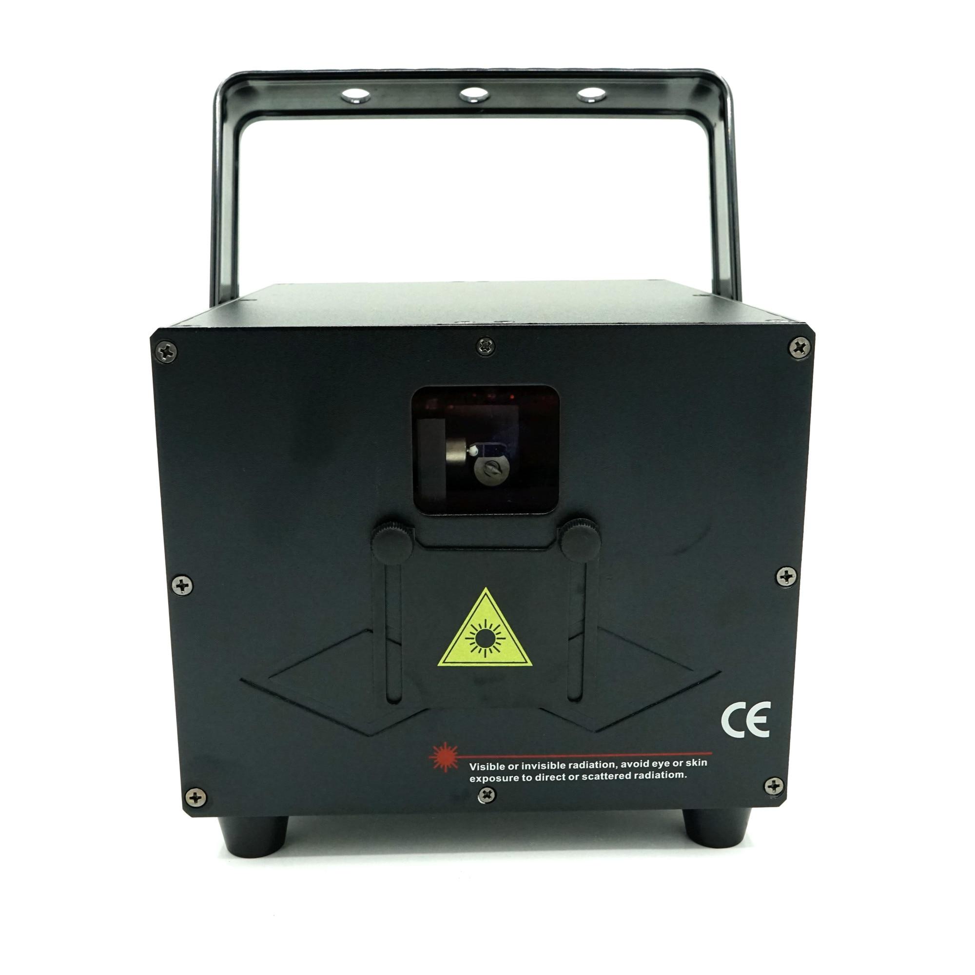 3W full color animation laser Stage Lighting ilda 30-40kpps Red 638nm Beam show system Dmx Dj Disco laser