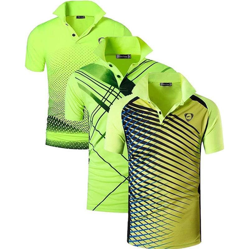 3 шт./упаковка, мужские спортивные футболки-поло