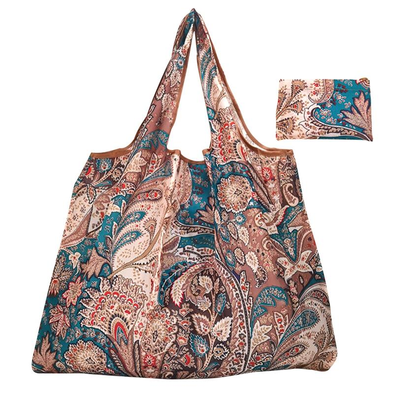 AliExpress - Big Size Thick Shopping Bag Lightweight Reusable Portable Oxford Tote Bag Grocery Tote Foldable Food Bag Bolsa Plegable