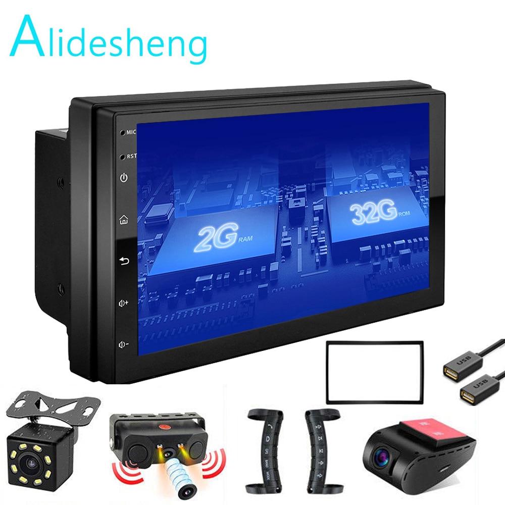 Android GEHEN 2 Din 2G + ROM32G Auto radio Multimedia Video Player Universal auto Stereo GPS KARTE Für Nissan hyundai Kia toyota rav4
