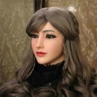 realistic silicone female headwear halloween handmade cap crossdresser realistic soft bionic skin transgende queen transvestite