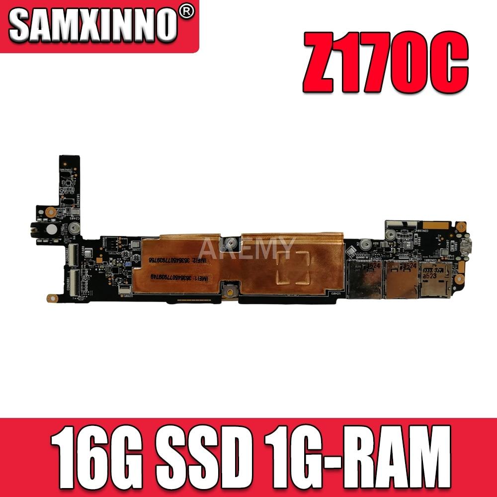 original For ASUS ZenPad C 7.0 Z170C Tablets motherboard Mainboard logic board W/16G SSD 1G-RAM C3230