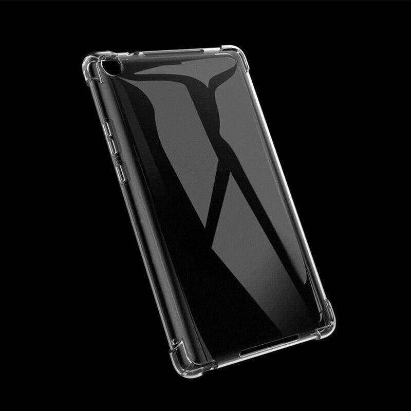 Transparent tablet case For Amazon Fire HD8 2020 8.0'' / Fire HD 8 Plus 2020 8.0 inch Drop Resistant case Slim TPU case