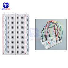 Diymore MB-102 400 kravat noktaları lehimsiz Breadboard Arduino için prototip PCB kurulu kiti