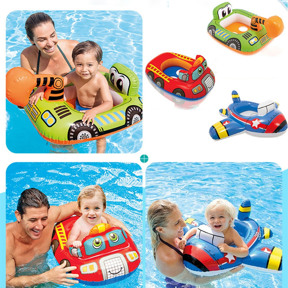 2017 new high quality safety baby need not inflatable floating ring round the neck round floating ring toy baby swimming pool Children's floating board inflatable swimming ring baby inflatable floating ring swimming pool float inflatable floating board